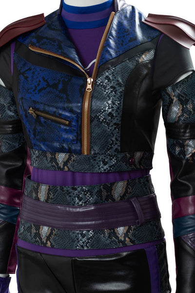 Descendants 3 Mal Lady Maleficent Bertha Cosplay Kostüm Set