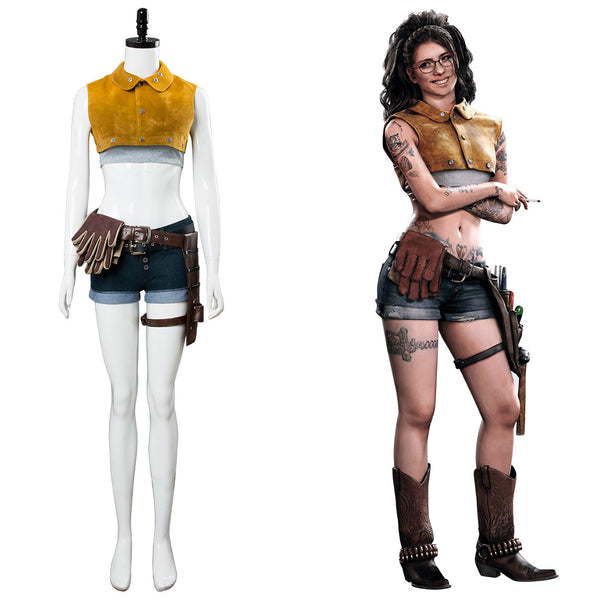 DmC: Devil May Cry 5 Nico Cosplay Kostüm NEU Damen