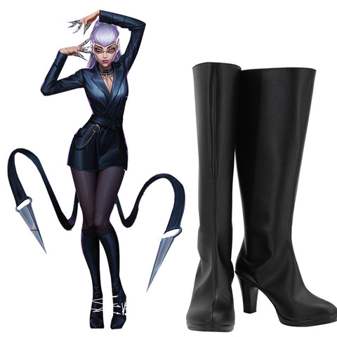 Evelynn K/DA League of Legends Evelynn THE BADDEST Stiefel Cosplay Schuhe