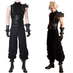 FF7 Final Fantasy VII: Cloud Strife Cosplay Kostüm NEU Version
