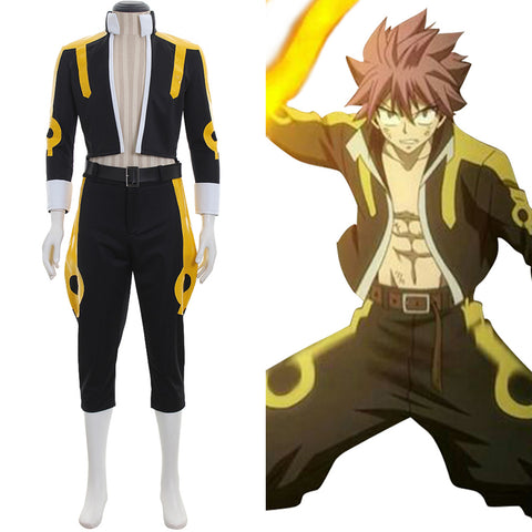 Fairy Tail Natsu Natsu Dragonil Set Cosplay Kostüm Version C
