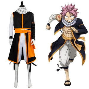 Fairy Tail die letzte Staffel Etherious Natsu Dragneel Cosplay Kostüm NEU