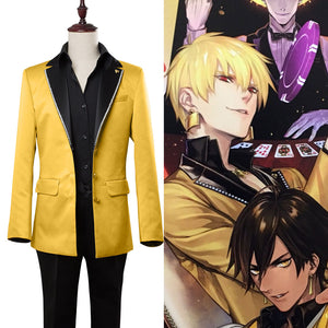 Fate/Grand Order Caster Gilgamesh Cosplay Kostüm Set