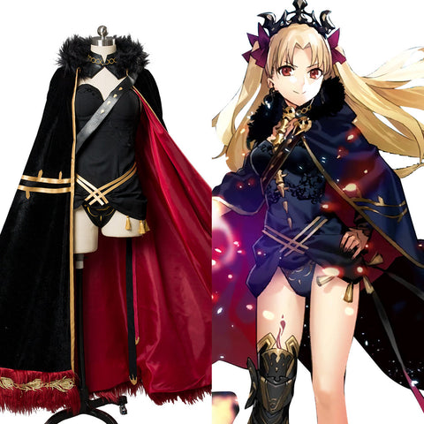 Fate/Grand Order FGO Ereshkigal Lancer Cosplay Kostüm Erwachsene