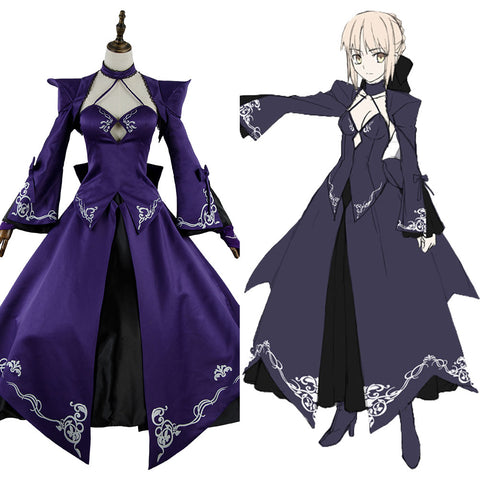 Fate Grand Order FGO Saber Alter Stage 3 Kleid Cosplay Kostüm NEU
