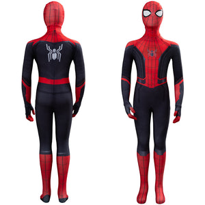 Film Spider Man Far From Home Tom Holland Peter Parker Jumpsuit Kinder Kostüm Overall Cosplay
