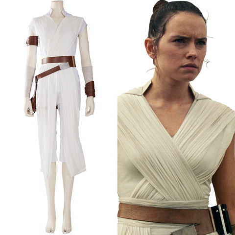 Film Star Wars 9 The Rise of Skywalker Teaser Der Aufstieg Skywalkers Rey Outfit Cosplay Kostüm