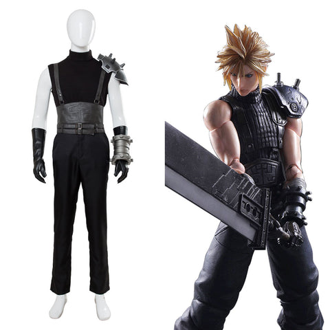 Final Fantasy VII: Cloud Strife Cosplay Kostüm neu Version