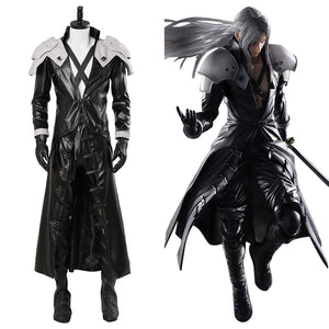 Final Fantasy VII: Sephiroth Cosplay Kostüm Set Neu