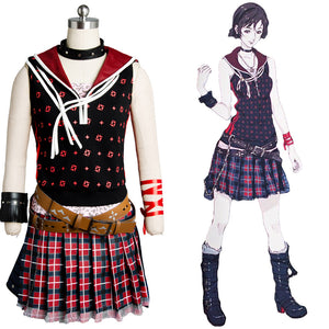 Final Fantasy XV FF 15 Iris Amicitia Dress Outfit Cosplay Kostüm Set