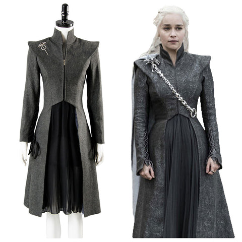 GOT Game of Thrones Staffel 7 Daenerys Targaryen Cosplay Kostüm Damen Kostüme
