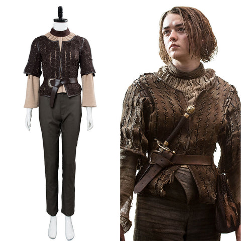 Game of Thrones Spiel der Throne Arya Starkv Cosplay Kostüm