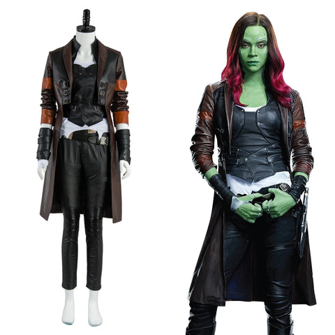 Guardians of the Galaxy 2 Gamora Uniform Cosplay Kostüm
