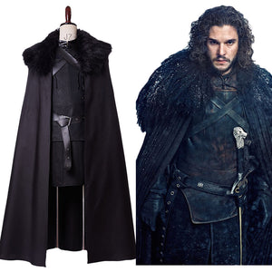 GoT Game of Thrones Jon Snow Nacht Seher Outfit Cosplay Kostüm