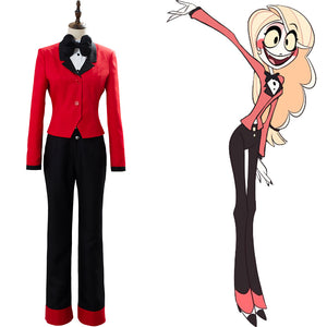 Hazbin Hotel Angel CHARLIE Cosplay Kostüm Set