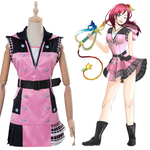 Kingdom Hearts III -Kairi Cosplay Kostüm Kleid