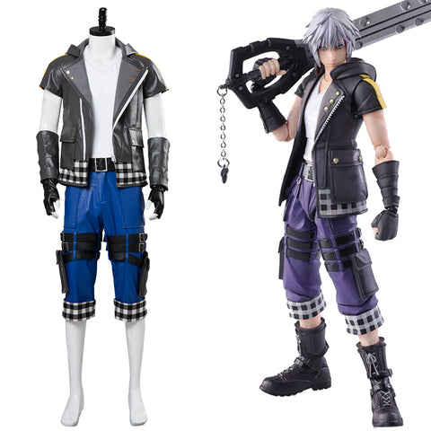 Kingdom Hearts III -Riku Cosplay Kostüm Set