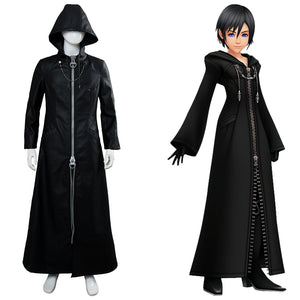 Kingdom Hearts III Kingdom Hearts 3 Organization XIII Xemnas Xion Uniform Mantel Cosplay Kostüm NEU