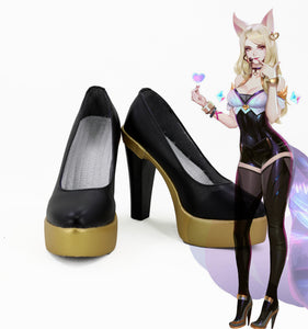 League of Legends LOL Ahri K/DA hAUT Skin Cosplay Schuhe