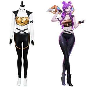 LOL K.DA Kai'Sa Skin Haut League of Legends Haut Skin Cosplay Kostüm