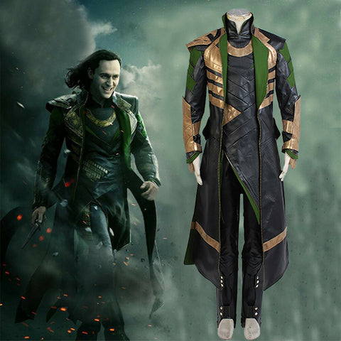 Loki Thor The Dark Kingdom Insgesamt Set Cosplay Kostüm