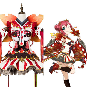 Love Live ! Ruby Kurosawa Aqours Fall Leaves Ver. SR 1337 Cosplay Kostüm NEU