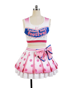 Love Live! Yazawa Nico Anfeuerer Cheerleaders Uniform Cosplay Kostüm