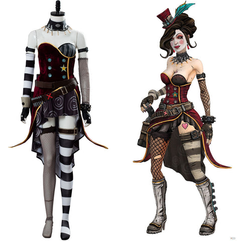 Moxxi Borderlands 3 Moxxi Kostüm Cosplay Kostüm Set