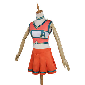 My Hero academia Boku no Hero ACADEMIA Cheerleading Unifrom Cosplay Kleid Kostüm