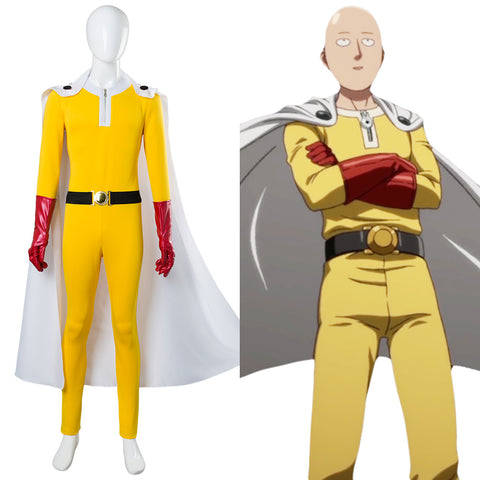 One-Punch Man Saitama Jumpsuits Cosplay Kostüm NEU