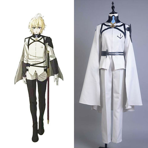 Seraph of the End Owari no Seraph 2 Vampires Mikaela Hyakuya Cosplay Kostüm