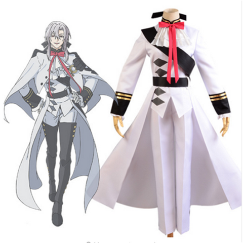 Seraph of the End Vampires Ferid Bathory Uniform Cosplay Kostüm