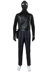 Spider-Man: Into the Spider-Verse Peter Parker / Spider-Man Noir Cosplay Kostüm für Karneval