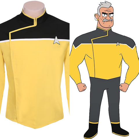 Star Trek: Lower Decks Uniform Kostüm Star Trek Cosplay Uniform