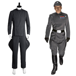 Star Wars Imperial Officer Star Wars Offizier Uniform Kostüm Updated Version Grau