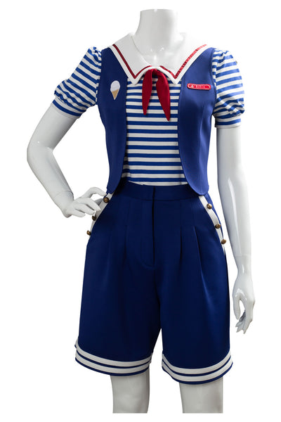Stranger Things 3 Scoops Ahoy Robin Unifrom Cosplay Kostüm NEU