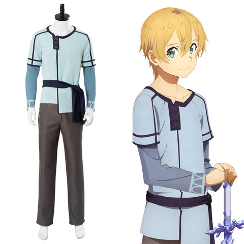 Sword Art Online Alicization Underworld  Eugeo Set Cosplay Kostüm