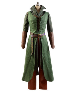 The Hobbit 2 / 3 Elf Tauriel Outfit Cosplay Kostüm Set