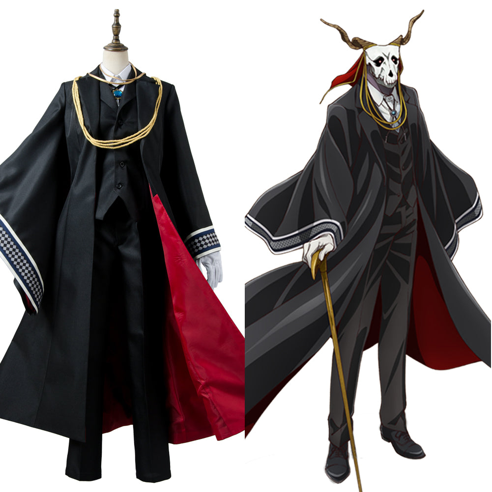 The Ancient Magus' Bride Mahoutsukai no Yome Die Braut des Magiers Elias Ainsworth Outfit Cosplay Kostüm