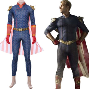 The Boys Superhelden Homelander Cosplay Kostüm Jumpsuit