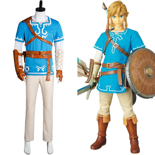 The Legend of Zelda: Breath of the Wild Link Cosplay Kostüm