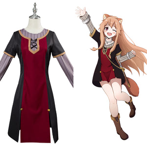 The Rising of the Shield Hero Raphtalia Cosplay Kostüm Mädchen