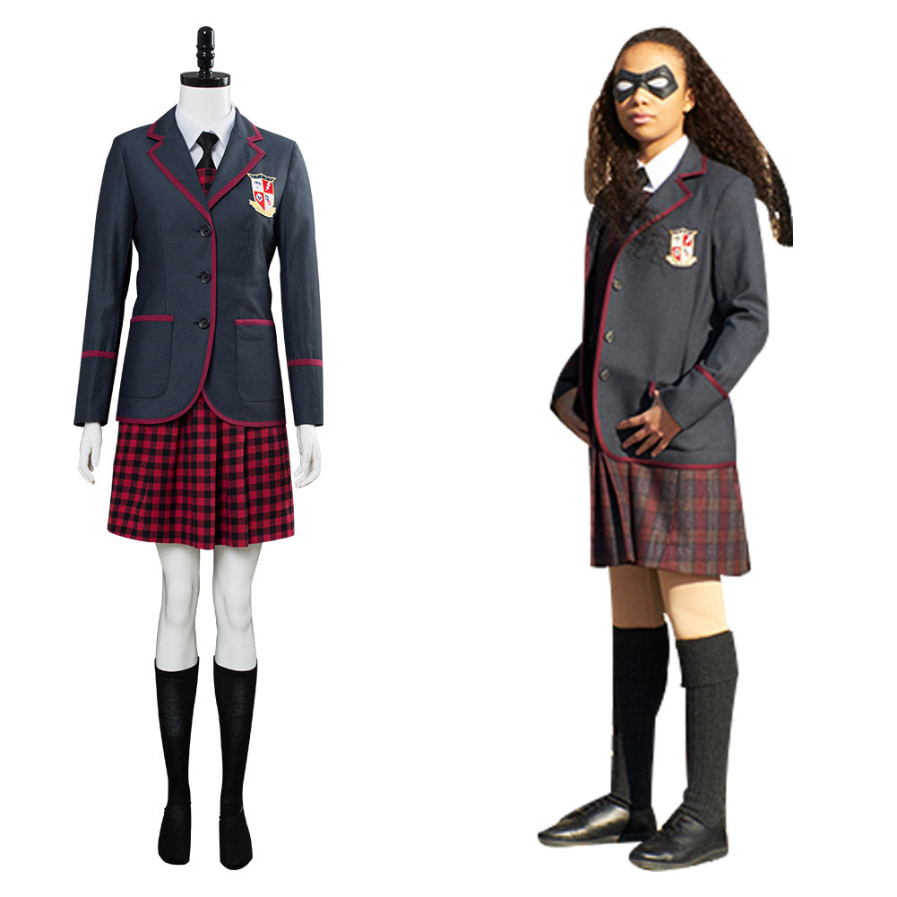 The Umbrella Academy Teenagern Schuluniform Cosplay Kostüm Mädchen Uniform