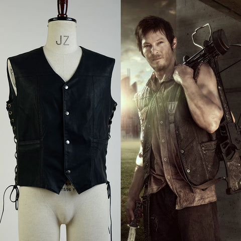 The Walking Dead Daryl Dixon Weste nur Kostüm Cosplay