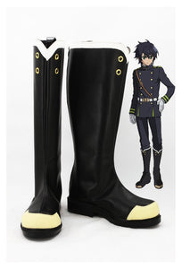 Yūichirō Hyakuya / Shinoa Hīragi Seraph of the End Stiefel Cosplay Schuhe