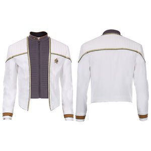 Star Trek DATA The Next Generation Picard Data Cosplay Halloween Karnveval Kostüm