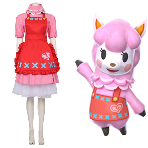 Animal Crossing Reece Cosplay Costumes Halloween Carnival Costumes Custom Made