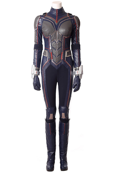 Ant-Man and the Wasp Wasp Hope Van Dyne Cosplay Kostüm Jumpsuit
