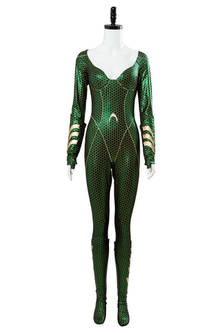 Aquaman mera Jumpsuit Cosplay Kostüm Set