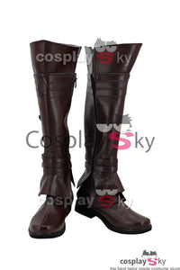 Assassin's Creed Ezio Auditore Da Firenze Stiefel Cosplay Schuhe